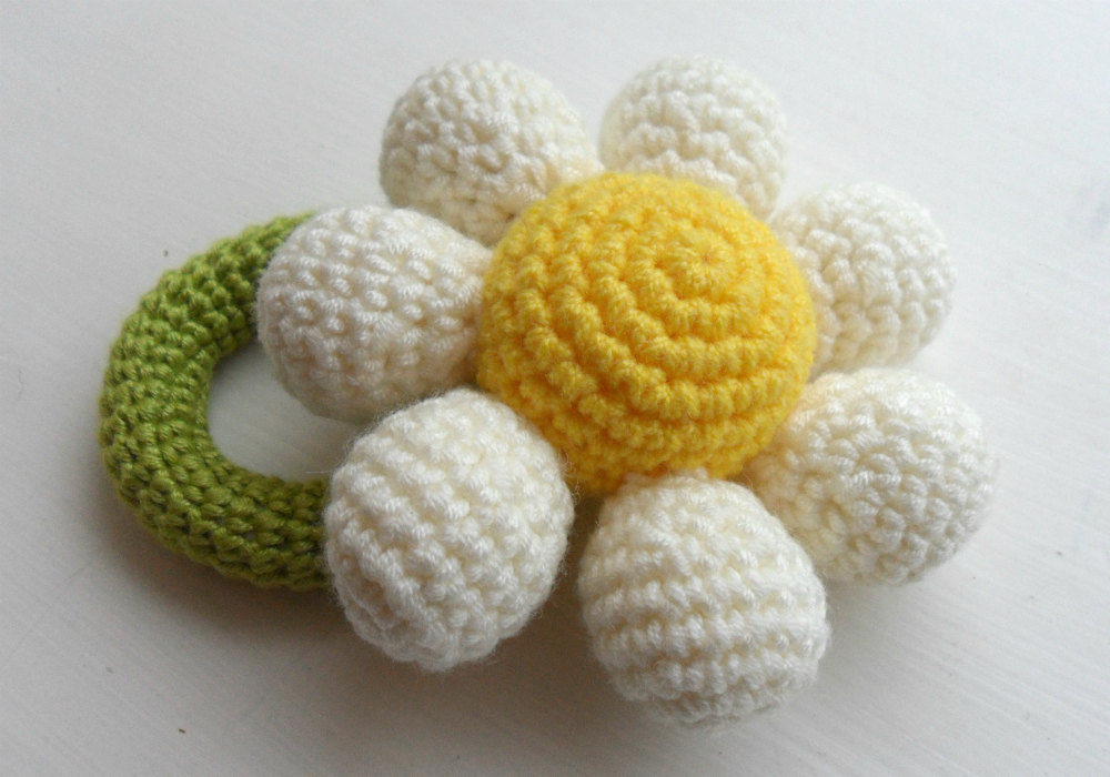 Crochet Flower Girl Baby Bouquet choose your colour Made to Order
